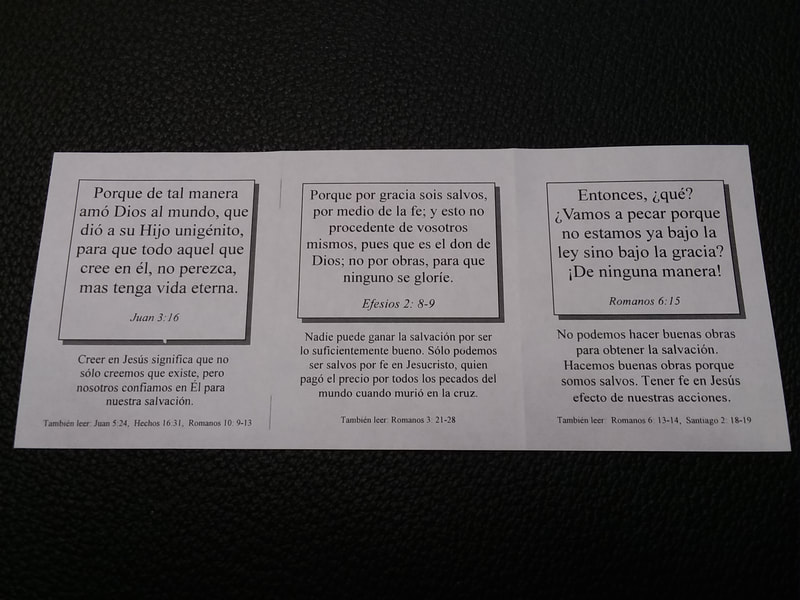 Free, Printable Gospel Tracts in English and Spanish - THE